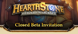 Hearthstone Closed Beta Invitation