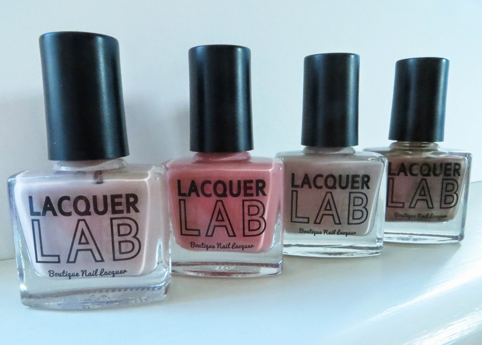 The Lacquer Lab Naked Ladies Collection