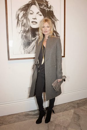 Kate Moss at Bailey's Stardust NPG exhibition