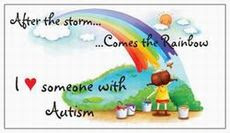 I Love someone with Autism!