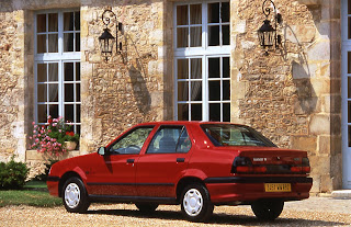Renault also produced a booted sedan 19, it looked like this