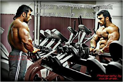 Worldwide Bodybuilders: Indian muscle god Sangram Chougule