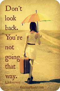 No mires atrás.
