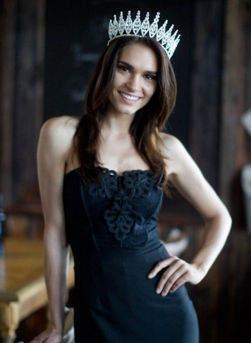 Miss Slovenije Slovenia 2012 Nives Oresnik