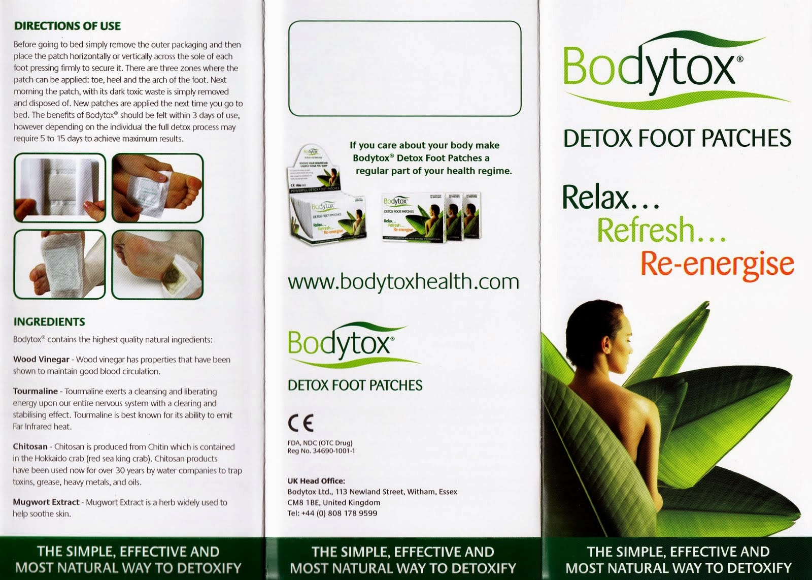 Attention Smokers - Detoxify With Ionic Foot Patches   Accretive Health