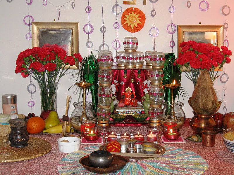 Unique Ganpati Home Decoration Ideas Eco Friendly Tips 2015 Mruvie One Click Information
