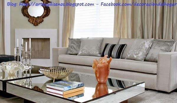 Living salas modernas con estilo : decoración del hogar, diseño de ...