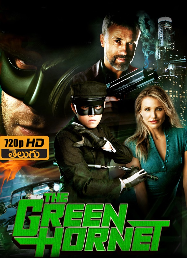 The Green Hornet (2011) Dual Audio Hindi 720p BluRay 800MB Download