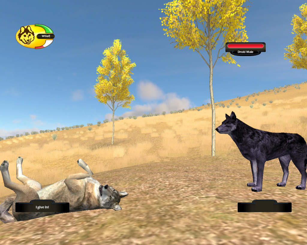 wolf games like wolfquest