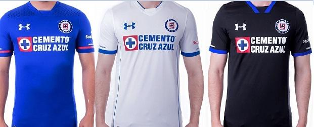 Jersey Cruz Azul 2017-2018