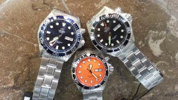 ORIENT MAKO3 BLACK - BLUE - ORANGE