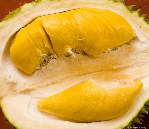 Buah durian, durian Sarawak, bau durian mengamuk, isi durian enak dan sedap, hantu durian, penggemar durian, isi durian gebu, raja buah, buah berduri