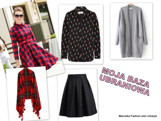 Moja Baza - podstawowe ubrania w mojej szafie - edycja jesienno-zimowa
