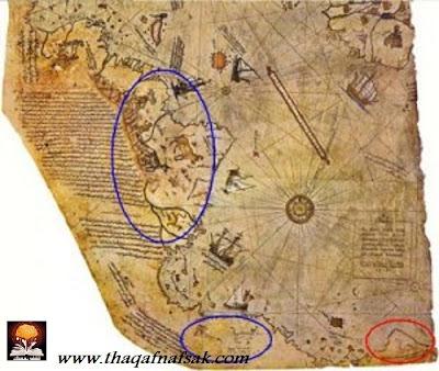 خرائط بيري التي أذهلت العلماء ! piri-reis-south-amer