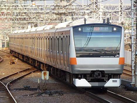 中央線 快速 武蔵小金井行き E233系