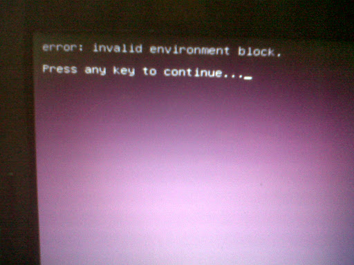 Invalid Environment Block Grub2 Error at Ubuntu-11.10 Oneiric Ocelot