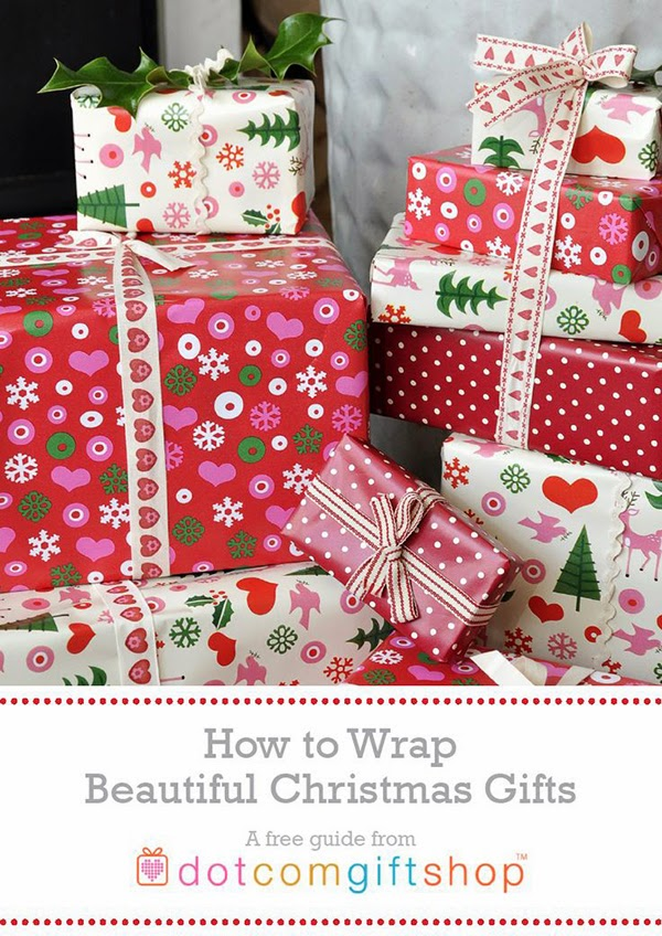 How to wrap christmas gifts from dotcomgiftshop