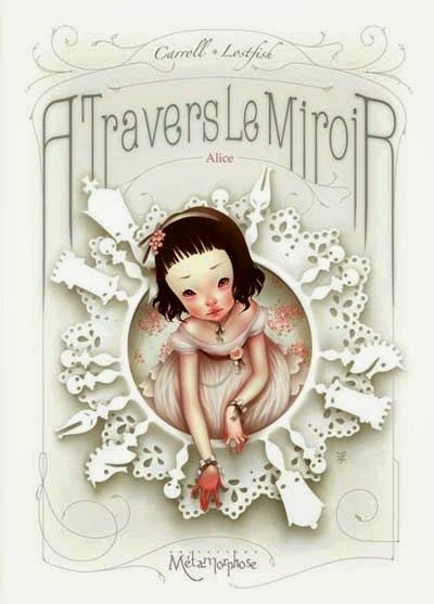 margaud liseuse alice travers le miroir ForA Travers Le Miroir