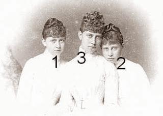 princesses de Prusse, fille Frederic III et Victoria de Grande-Bretagne et d'Irlande, reine Sophie de Grèce, landgravine de Hesse, princesse zu Schaumburg-Lippe