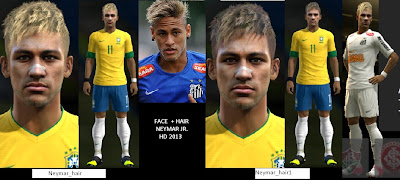 Download Neymar JR. HD Face 2013