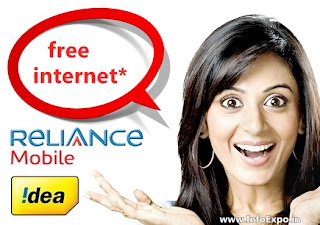 Free Internet Data Usage for Idea and Reliance subscribers