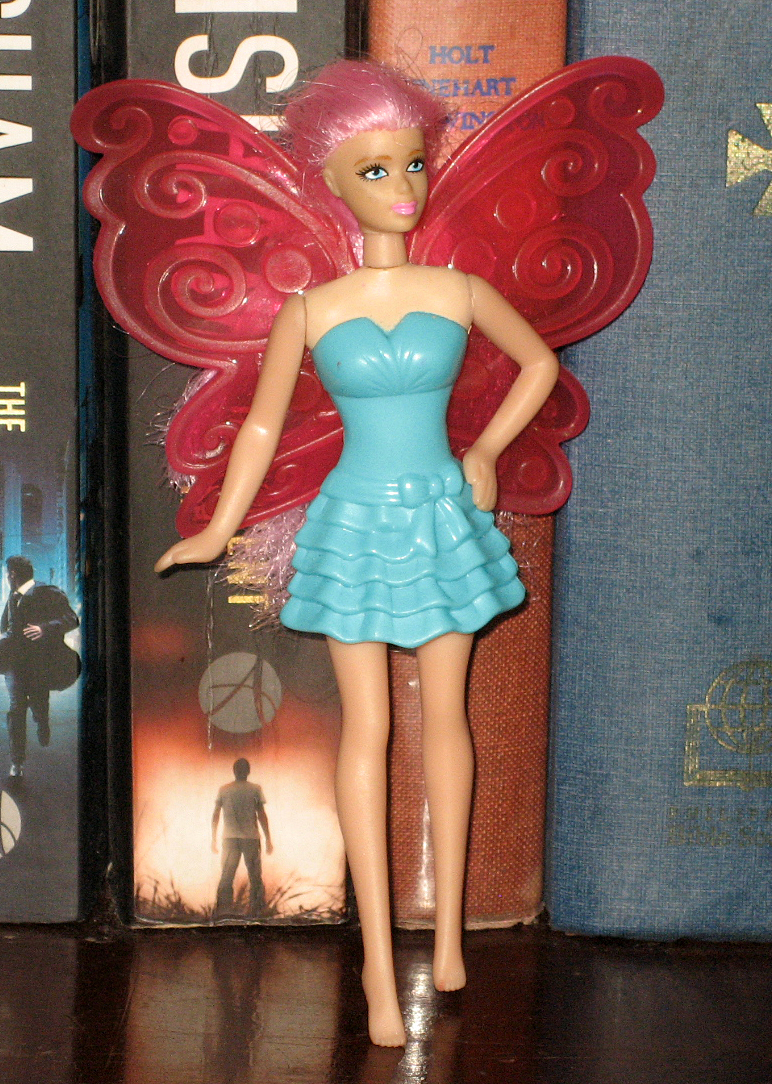 Percy's Fast Food Toy Stories: Blue Green Dress Barbie McD