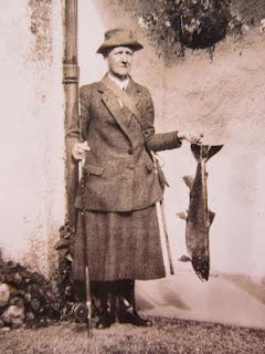 A man holding a salmon