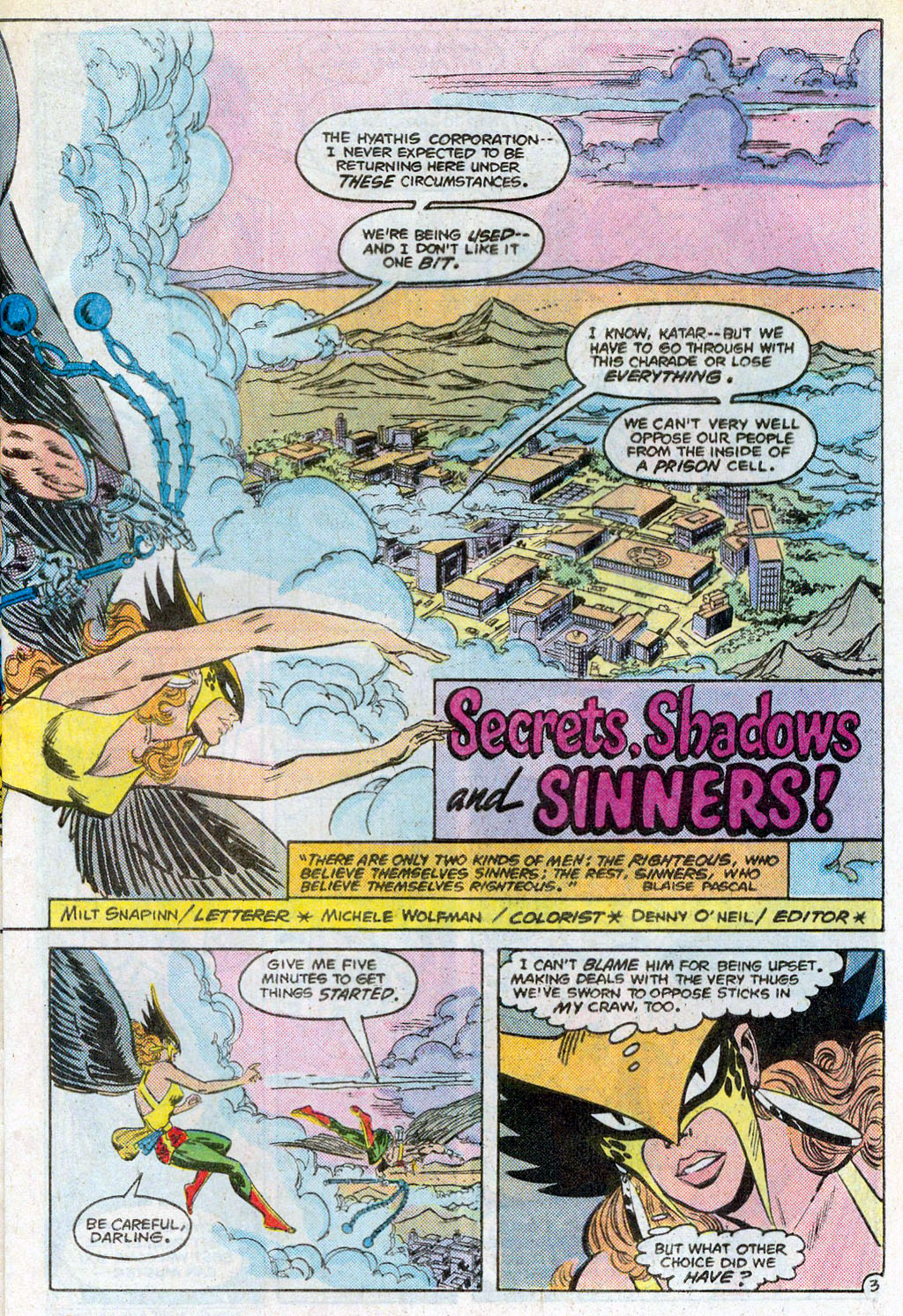 Hawkman (1986) Issue #3 #3 - English 6