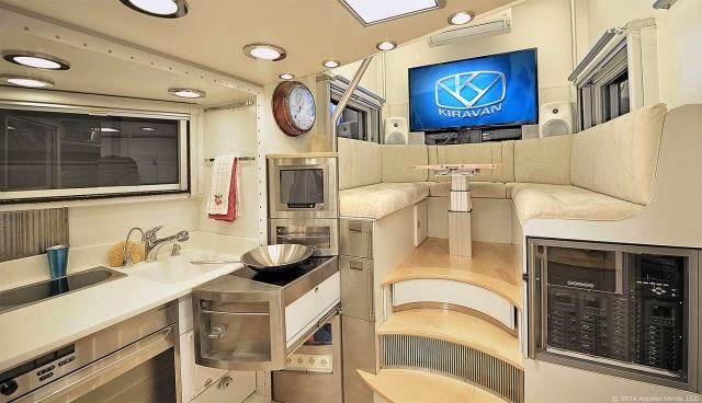 Mutfak ve oturma odası