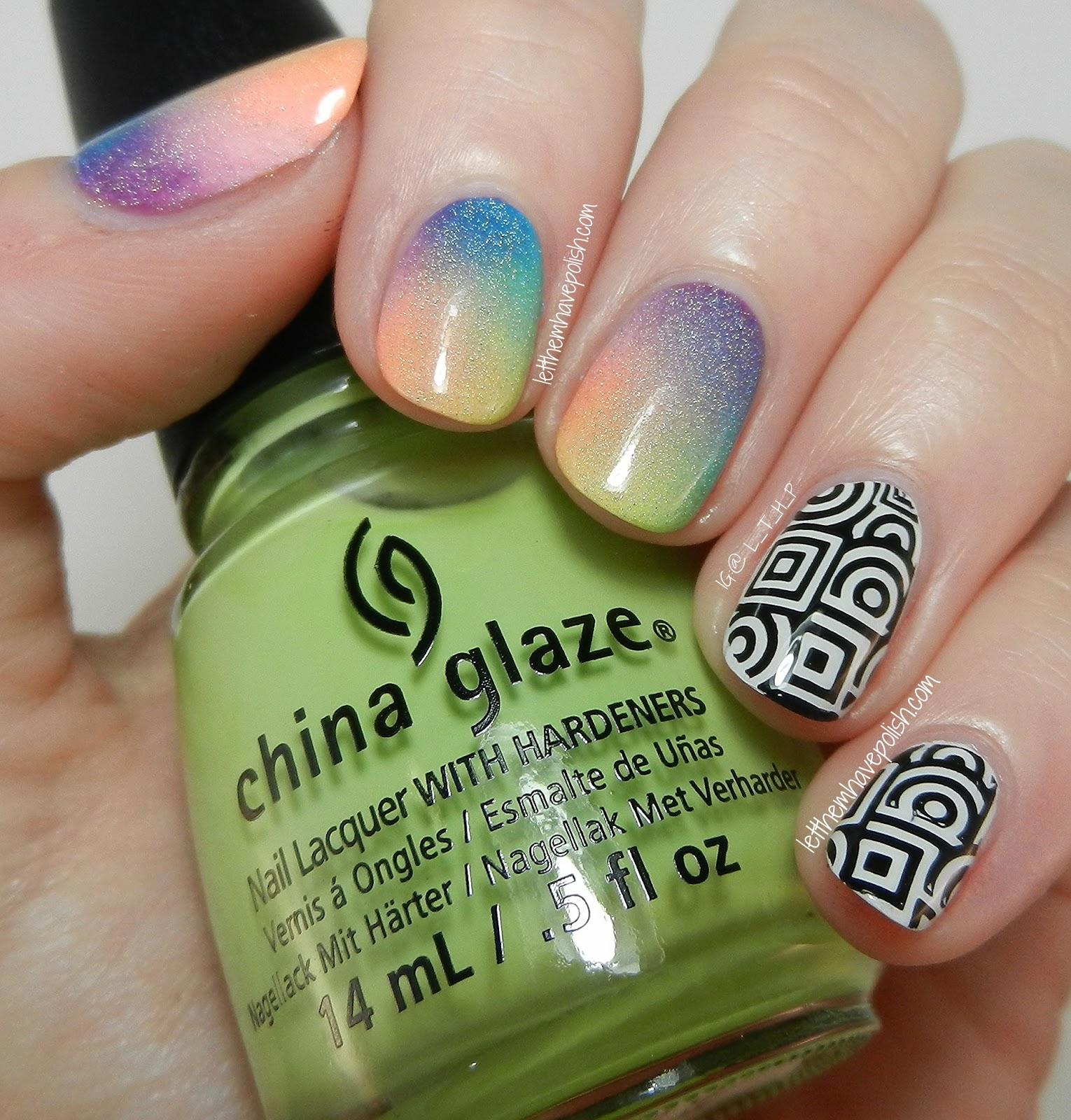 Let Them Have Polish!: China Glaze Rainbows And Trippy