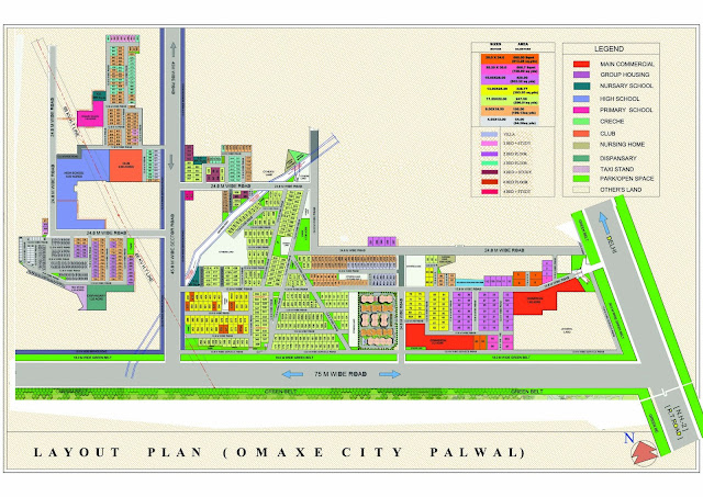 Omaxe City Palwal Master Plan