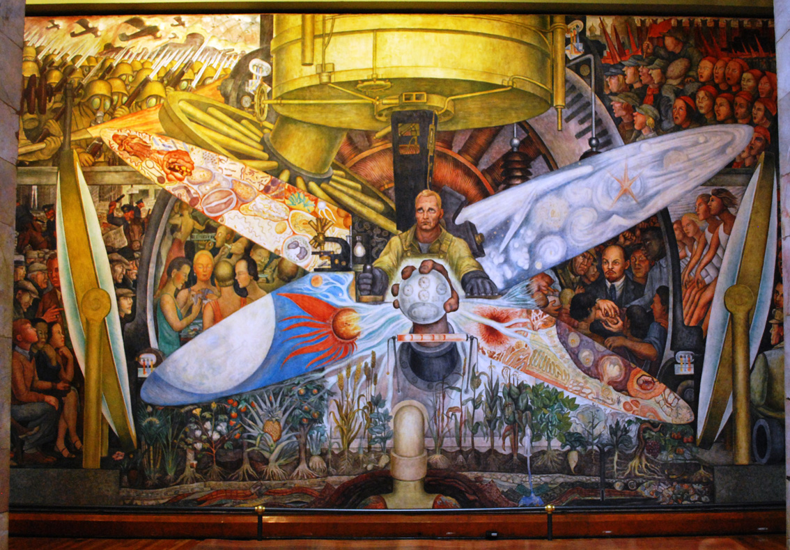 Intelliblog 03 07 11 10 07 11 for Diego rivera mural paintings