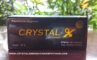 Crystal X Mengatasi Jamur Penyebab Keputihan