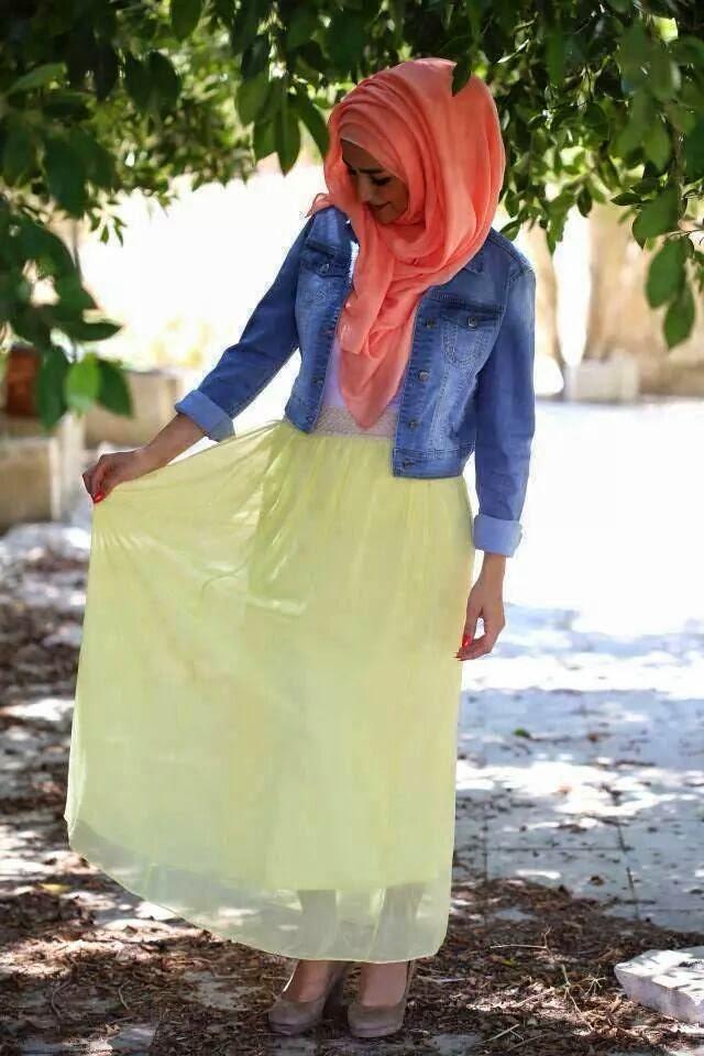 robe-hijab-jaune