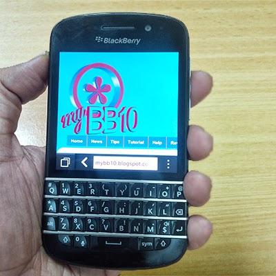 Harga BlackBerry Q10 Disertai Spesifikasi Dan Review