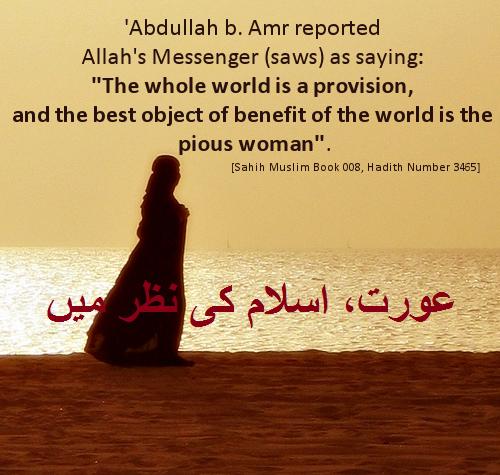 عورت، اسلام کی نظر میں