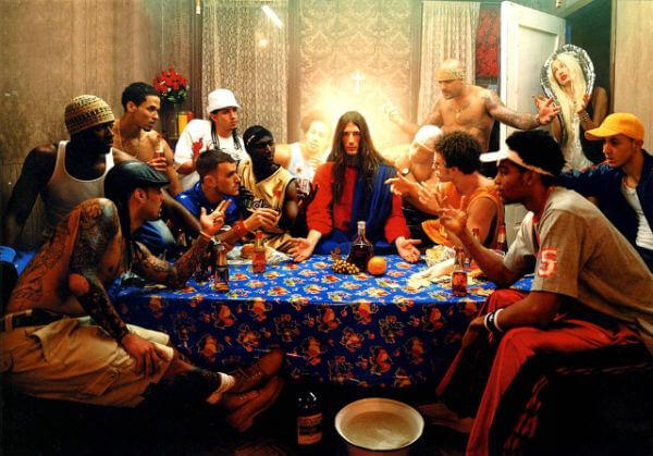 David LaChapelle, Last Supper Cina cea de taina