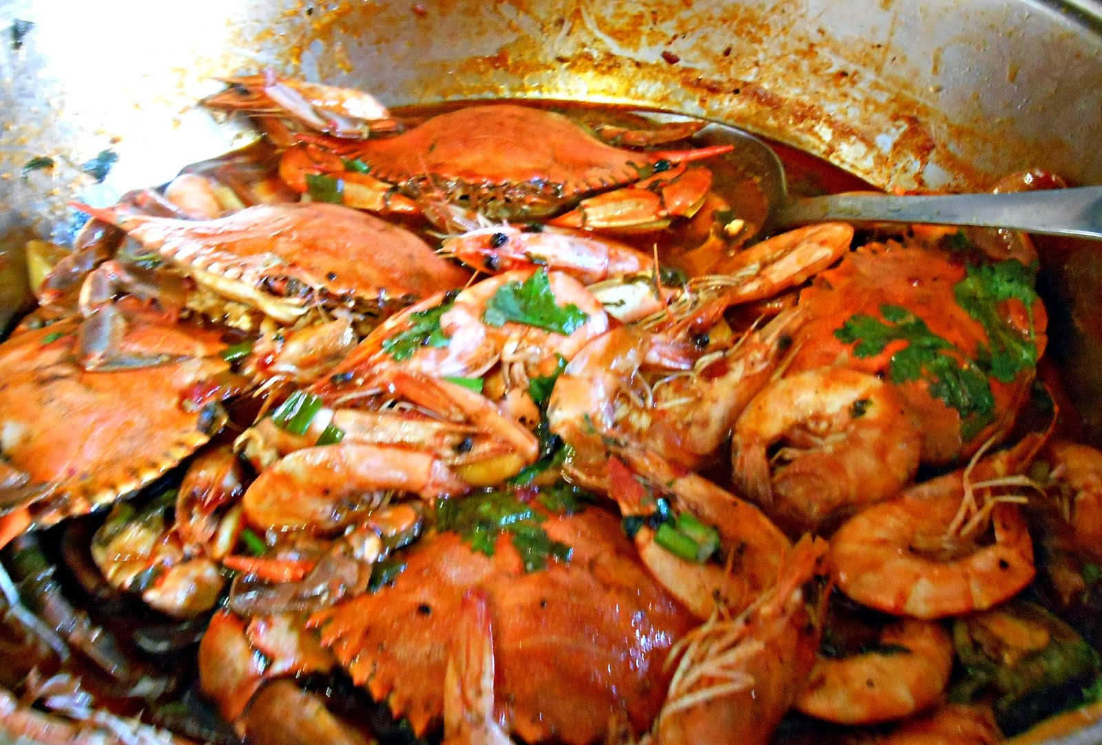 Singapore-Style Chili Crab and Shrimp | Not a Chef, but I can Cook!