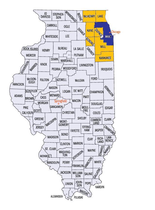 Census Map Chicago Map Courtesy of U.s Census