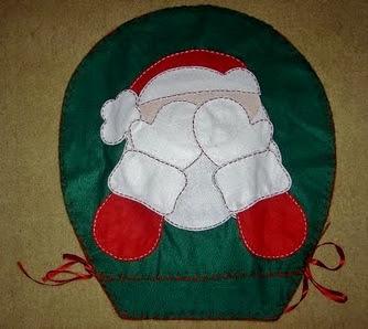 Jogo De Banheiro Com Motivo Natal