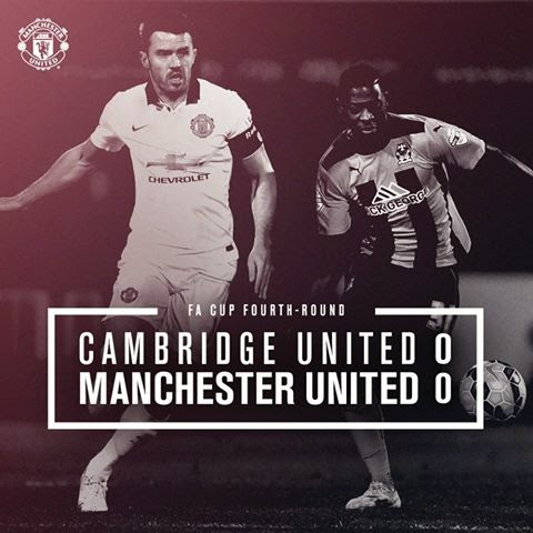 Cambridge vs Manchester United 0-0 Video Highlight