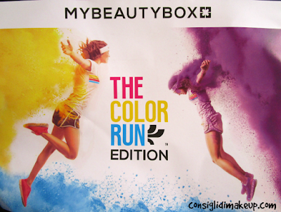 MyBeautyBox Agosto 2015: The Color Run Edition