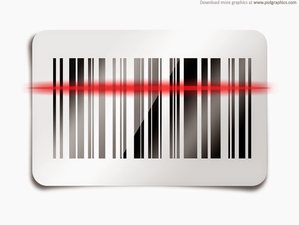 Barcode Scan Icon PSD