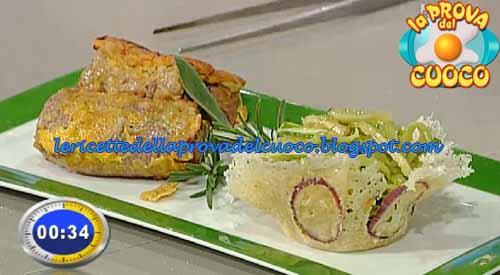 Braciolette fritte alla siciliana con puntarelle alla romana ricetta Prova del Cuoco