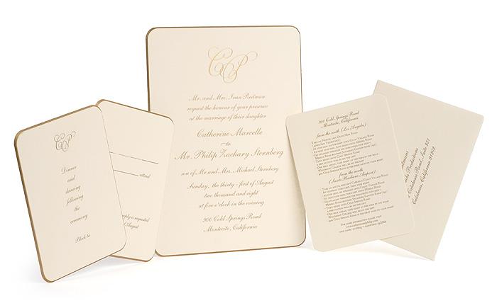 b t wedding i love fancy invites