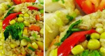 Resep Nasi Goreng Sehat (Isi Daging dan Sayuran)