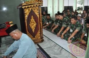 Do'a Bersama Dalam Rangka HUT Kodam II/Sriwijaya