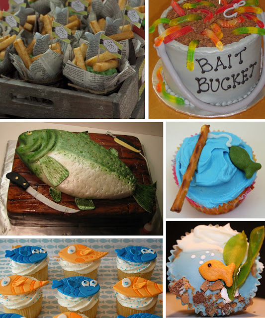 southern blue celebrations fishing party ideas inspirations