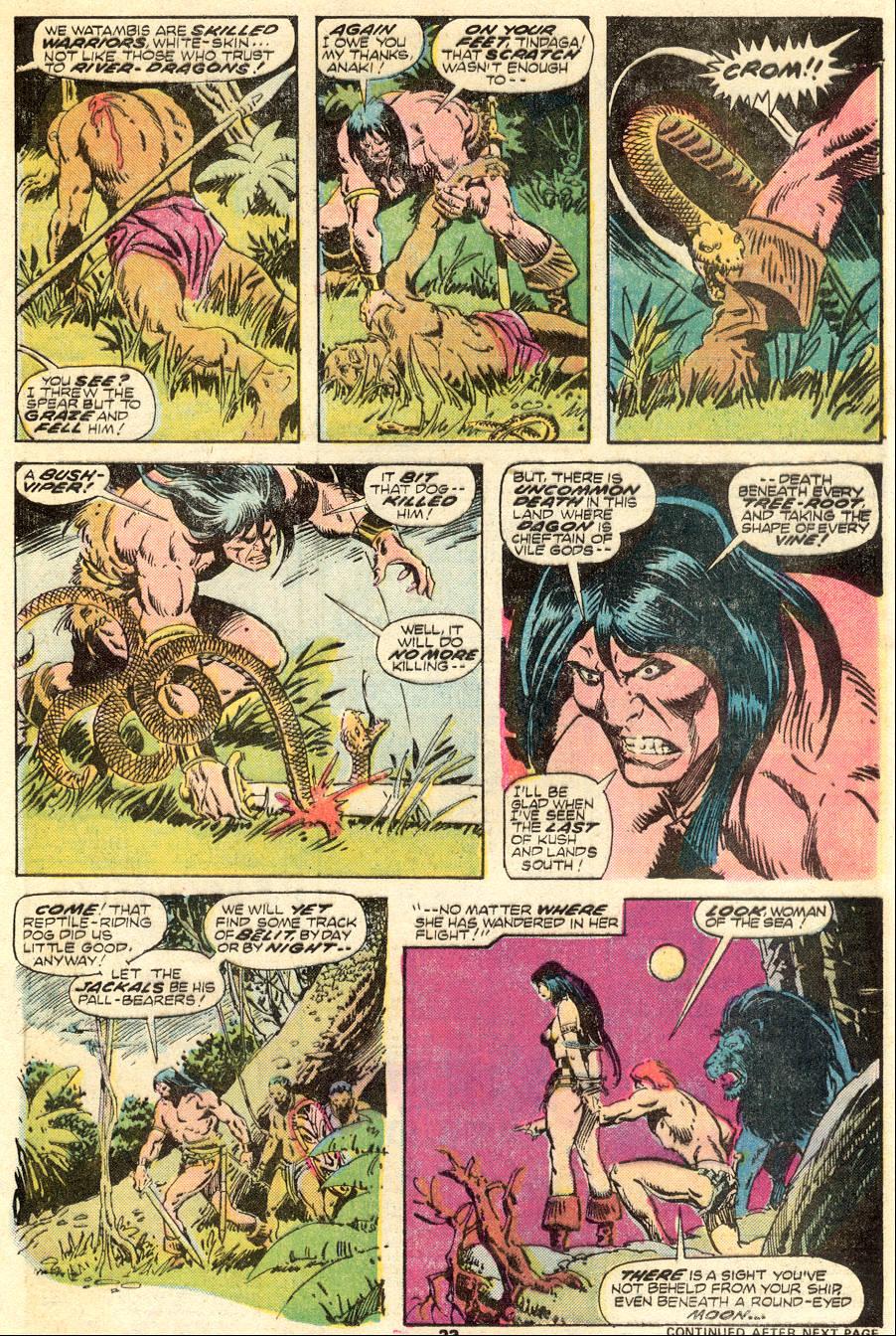 Conan the Barbarian (1970) Issue #62 #74 - English 14