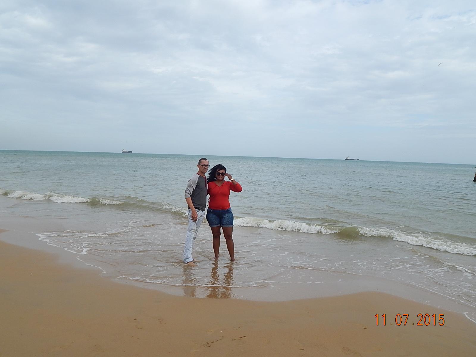 O amor e o mar